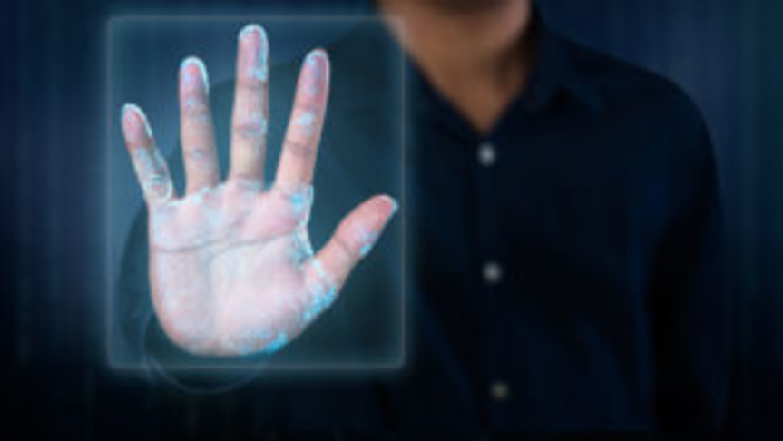 Biometric Hand Scanner