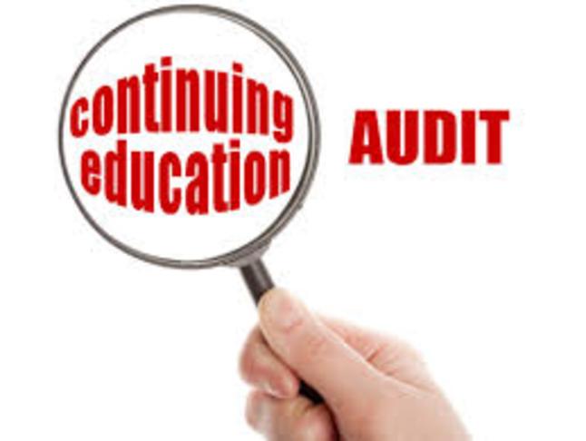 Continuing Education (CE) Audit Unit