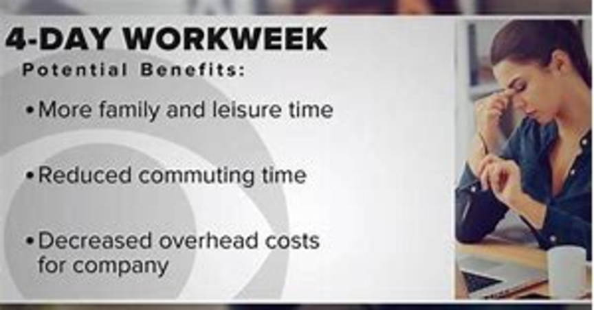 Four Day Work Week for Non-Essential Employees