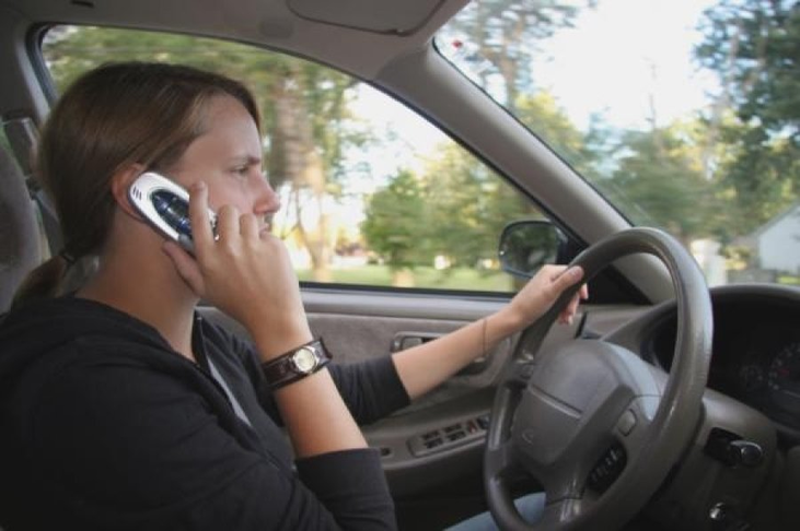 Enforcement of Handheld Cell Phone Use While Driving Law